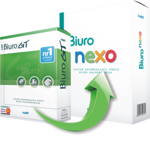 Upgrade z Biuro GT do Biuro nexo