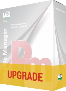 UPGRADE - Profile manager